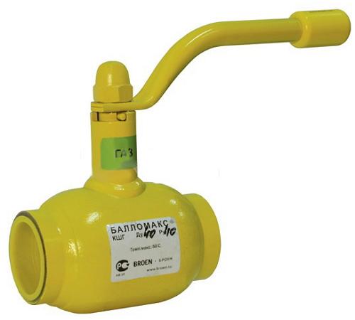 кран шаровой газовый ду 50